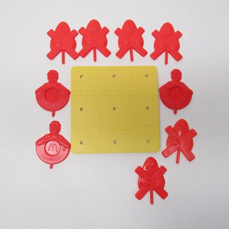 マクドナルド 1981年 ミールトイ Tic Tac Mac 後期バージョン 訳有【画像10】