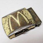 ベルトバックル  マクドナルド 米国製 真鍮製バックル A
