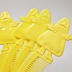 ミラー&コームなどその他服飾雑貨全般  マクドナルド 1980年代 ミールトイ グリマス 黄色 コーム