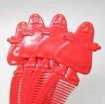 ミラー&コームなどその他服飾雑貨全般  マクドナルド 1980年代 ミールトイ グリマス 赤 コーム