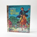 ベビー・ナーサリー&チャイルド系  ヴィンテージ絵本 ゴールデンリトルブック Paul Revere