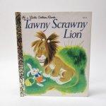ベビー・ナーサリー&チャイルド系  ヴィンテージ絵本 ゴールデンリトルブック Tawny Scrawny Lion