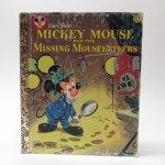 ディズニー  ヴィンテージ絵本 ゴールデンリトルブック ミッキー Missing Mouseketeers