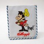 ミラー&コームなどその他服飾雑貨全般  ケロッグ 1984年 POP! ビニール製お財布