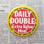 ファッション  マクドナルド ヴィンテージ 缶バッチ Daily Double