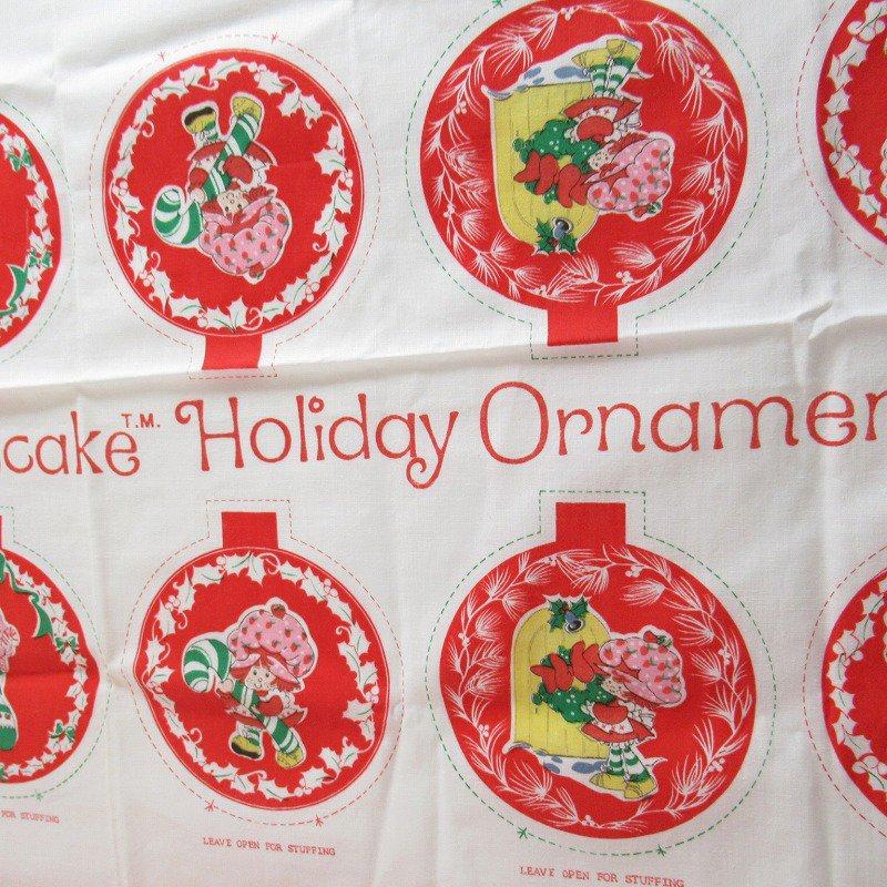 ストロベリーショートケーキ クリスマス オーナメント8個用 生地 B