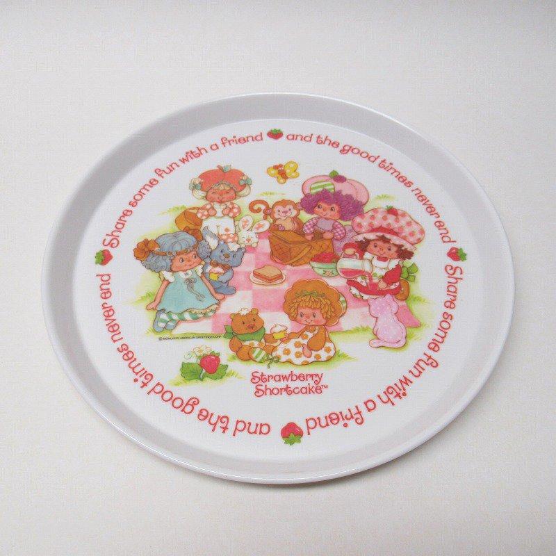 ストロベリーショートケーキ プラスチック製プレート B