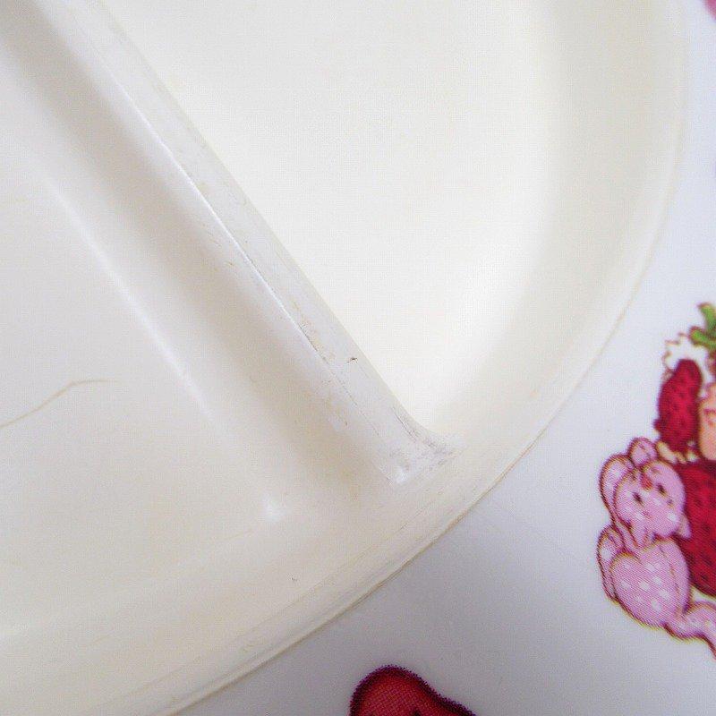 ストロベリーショートケーキ プラスチック製 3コンパートメントプレート A 【画像11】