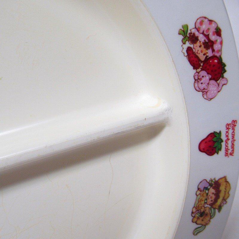 ストロベリーショートケーキ プラスチック製 3コンパートメントプレート A 【画像13】