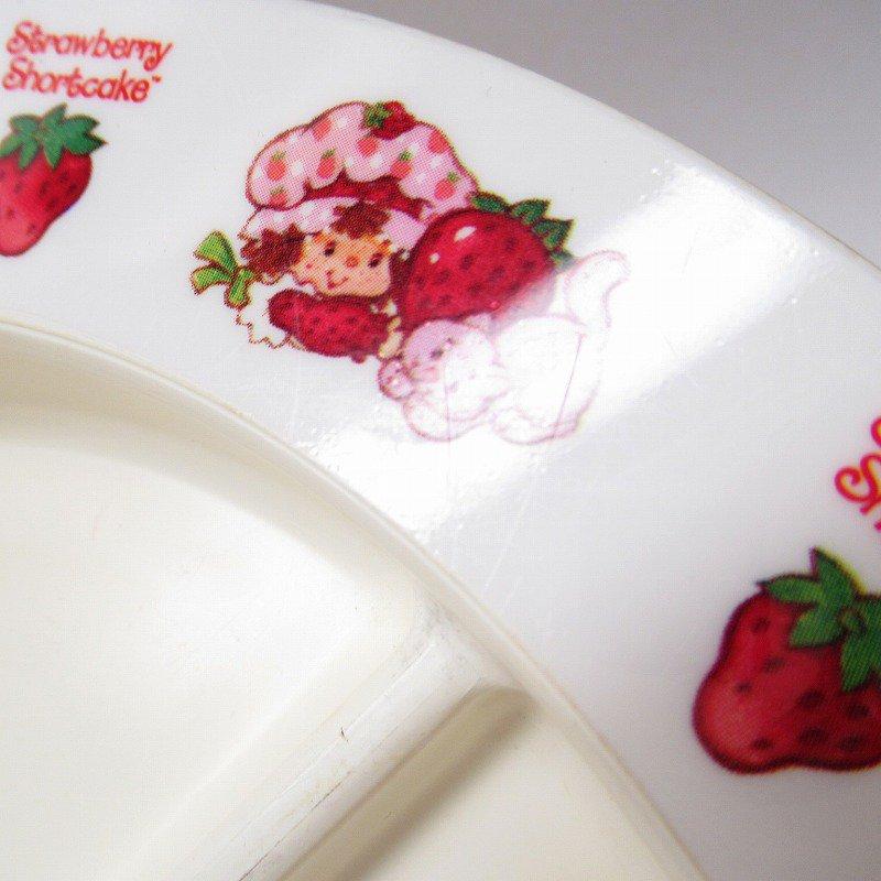 ストロベリーショートケーキ プラスチック製 3コンパートメントプレート A 【画像14】