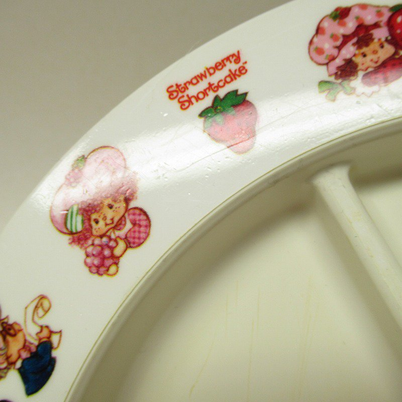 ストロベリーショートケーキ プラスチック製 3コンパートメントプレート A 【画像20】