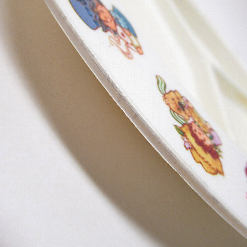 ストロベリーショートケーキ プラスチック製 3コンパートメントプレート A 【画像24】