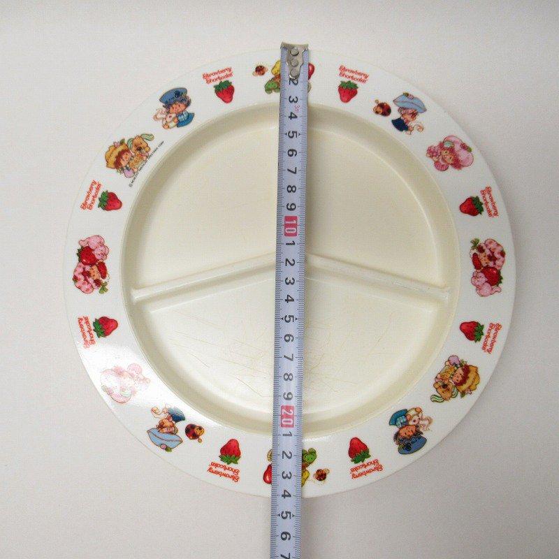ストロベリーショートケーキ プラスチック製 3コンパートメントプレート A 【画像31】
