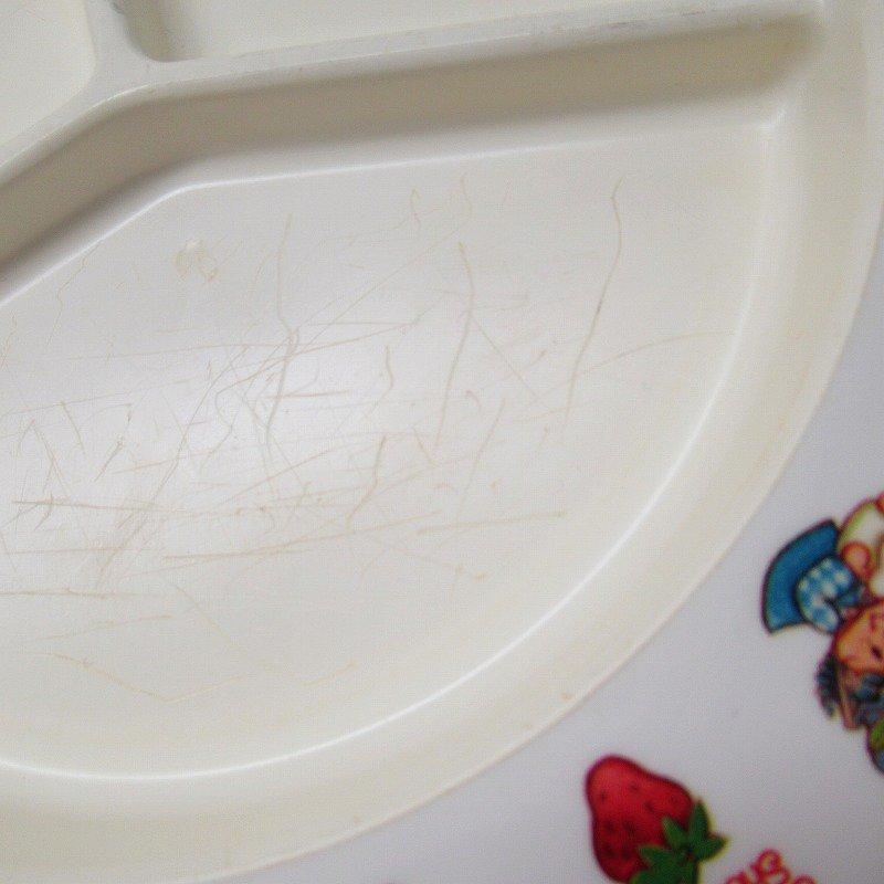 ストロベリーショートケーキ プラスチック製 3コンパートメントプレート A 【画像5】