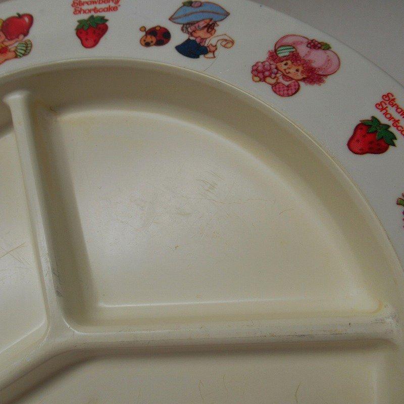ストロベリーショートケーキ プラスチック製 3コンパートメントプレート A 【画像6】