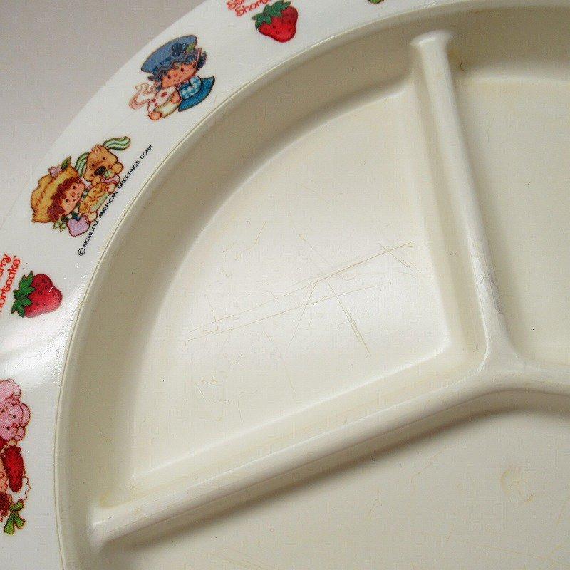ストロベリーショートケーキ プラスチック製 3コンパートメントプレート A 【画像7】