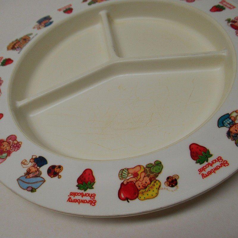 ストロベリーショートケーキ プラスチック製 3コンパートメントプレート A 【画像8】