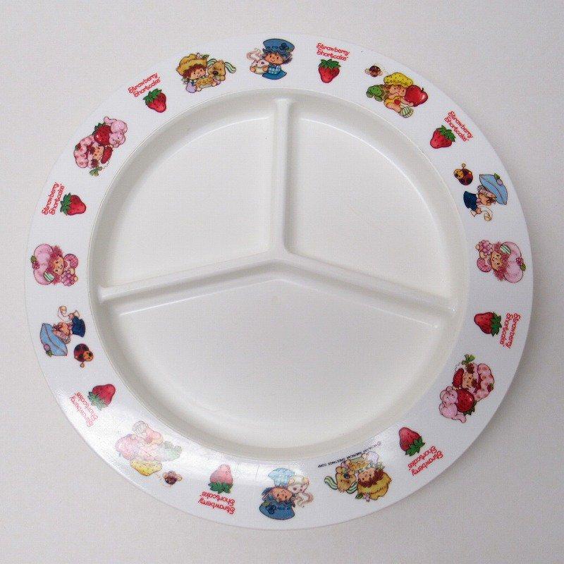 ストロベリーショートケーキ プラスチック製 3コンパートメントプレート B 【画像2】