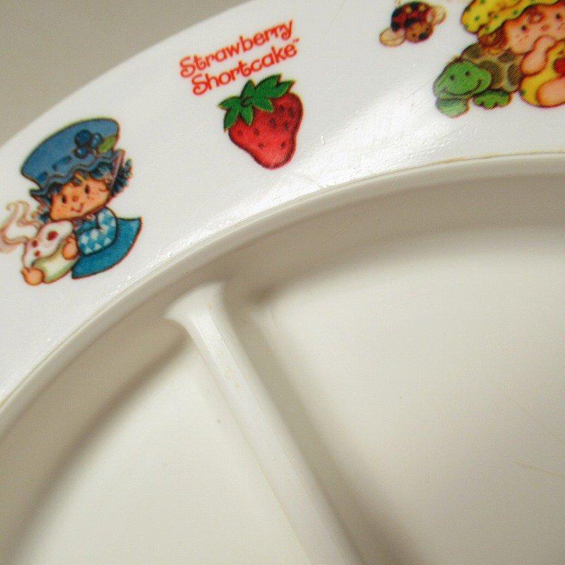 ストロベリーショートケーキ プラスチック製 3コンパートメントプレート B 【画像11】