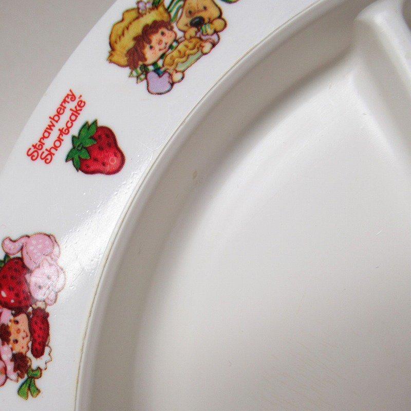 ストロベリーショートケーキ プラスチック製 3コンパートメントプレート B 【画像12】