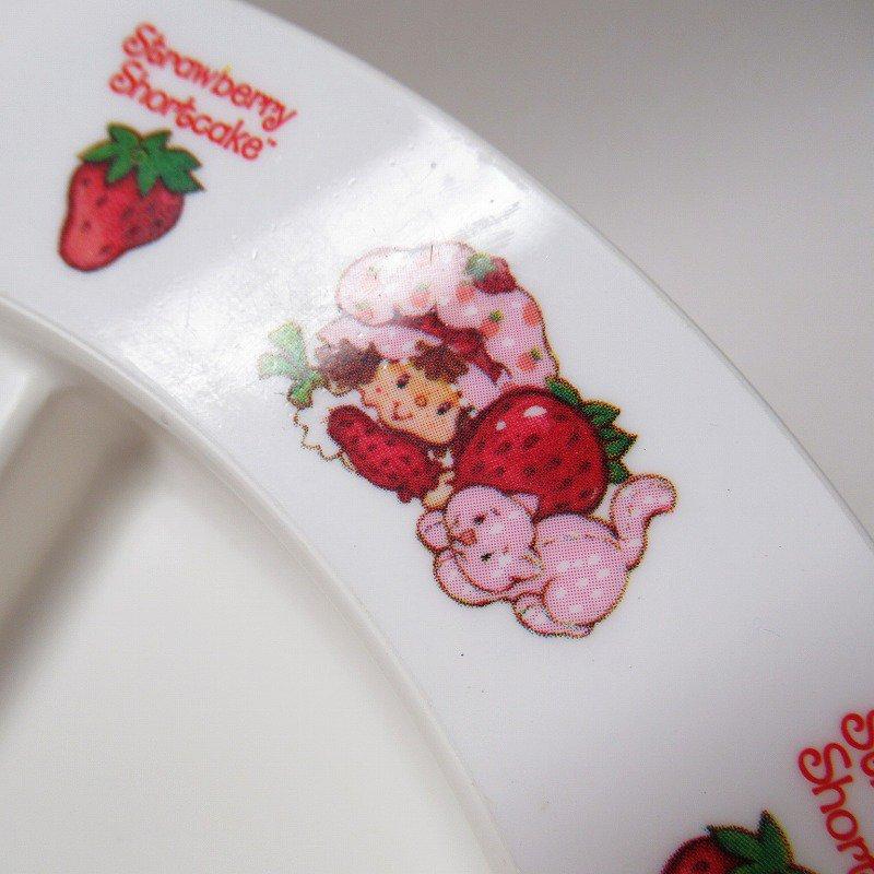 ストロベリーショートケーキ プラスチック製 3コンパートメントプレート B 【画像14】