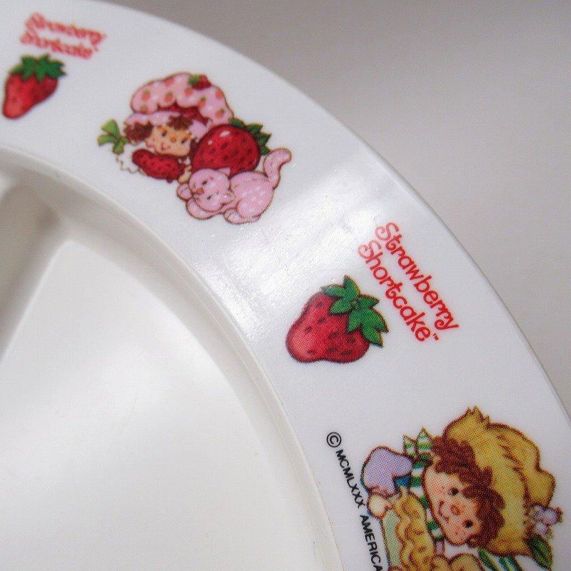 ストロベリーショートケーキ プラスチック製 3コンパートメントプレート B 【画像15】