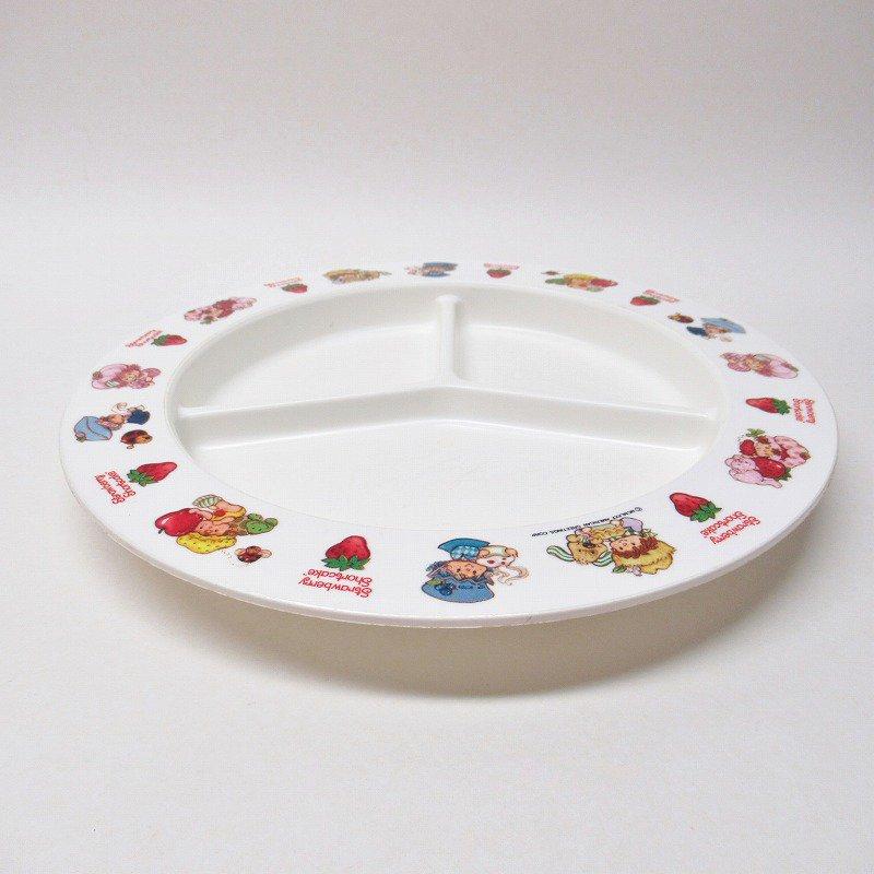 ストロベリーショートケーキ プラスチック製 3コンパートメントプレート B 【画像3】