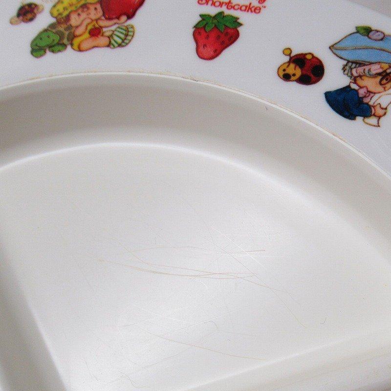 ストロベリーショートケーキ プラスチック製 3コンパートメントプレート B 【画像8】