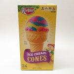 並行輸入品・現行品食品パッケージなど  キーブラー アイスクリーム用 コーンボックス【箱のみ】