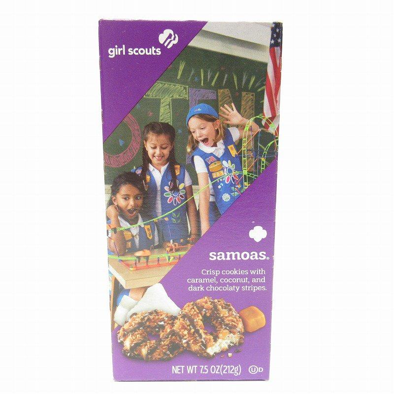 ガールスカウトクッキー Samoas ボックス