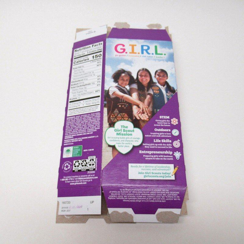 ガールスカウトクッキー Samoas ボックス【画像11】