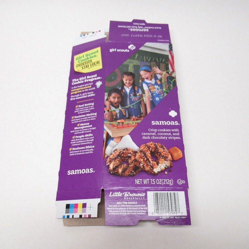 ガールスカウトクッキー Samoas ボックス【画像10】