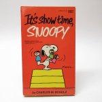 ブックス  スヌーピーコミックブック It's show time, Snoopy