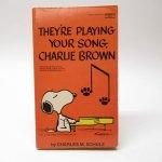 スヌーピー  スヌーピーコミックブック They're playing your song, Charlie Brown