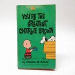 スヌーピー  スヌーピーコミックブック You're greatest, Charlie Brown