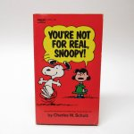 ★NEW ARRIVAL★  スヌーピーコミックブック You're not for real, Snoopy A