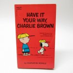 ★NEW ARRIVAL★  スヌーピーコミックブック Have it your way, Charlie Brown B
