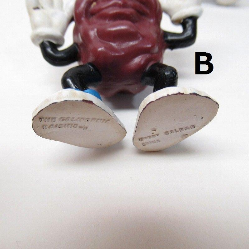 カリフォルニアレーズン Justin X. Grape PVCトイ フィギュア ABCD【画像19】