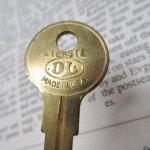 鍵&ヴィクトリア時代シューフック  アメリカンヴィンテージ 鍵 B