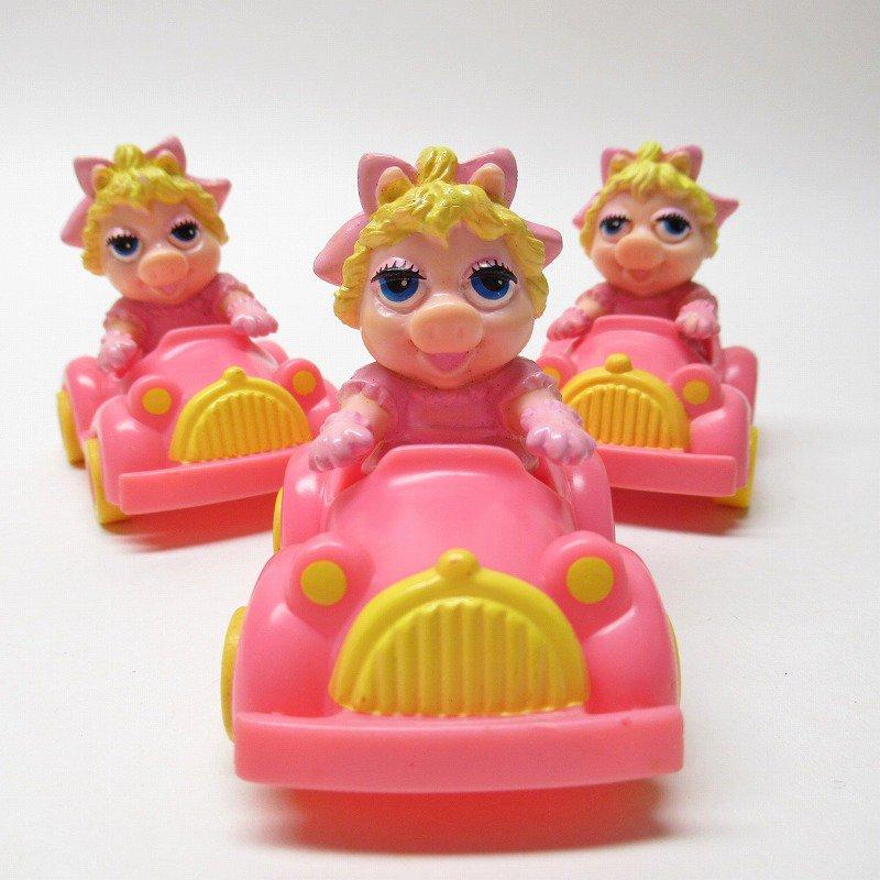 マペットショー マクドナルド ミールトイ ミスピギーとピンクの車