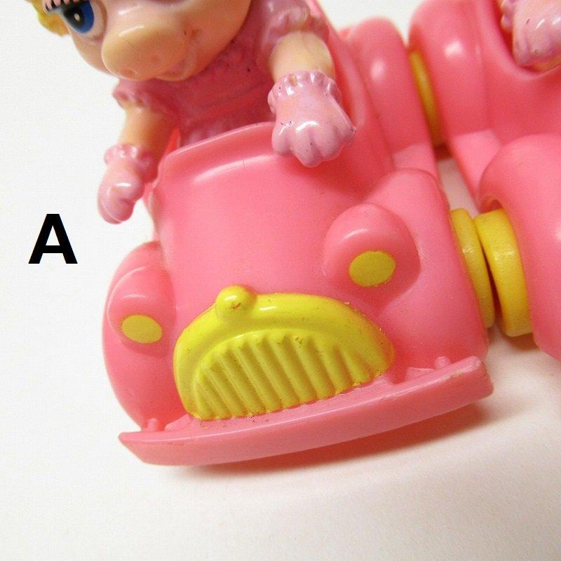 マペットショー マクドナルド ミールトイ ミスピギーとピンクの車【画像11】