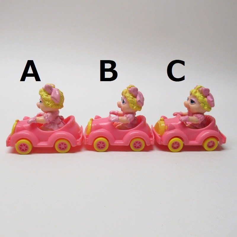 マペットショー マクドナルド ミールトイ ミスピギーとピンクの車【画像4】