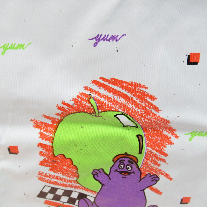 マクドナルド グリマス 1988年 ビニール製 ランチバッグ A【画像5】