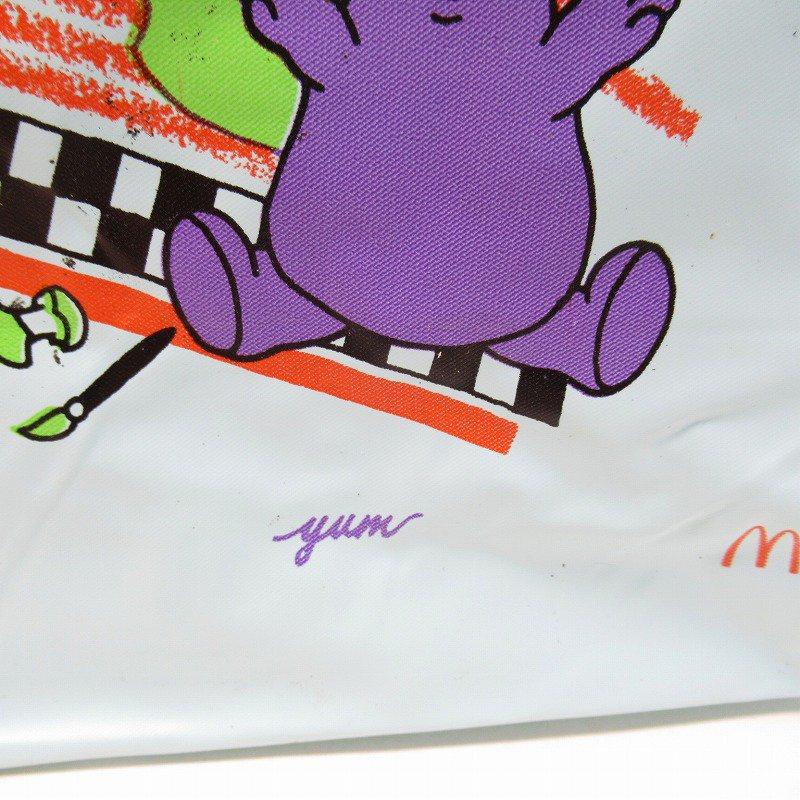 マクドナルド グリマス 1988年 ビニール製 ランチバッグ A【画像8】