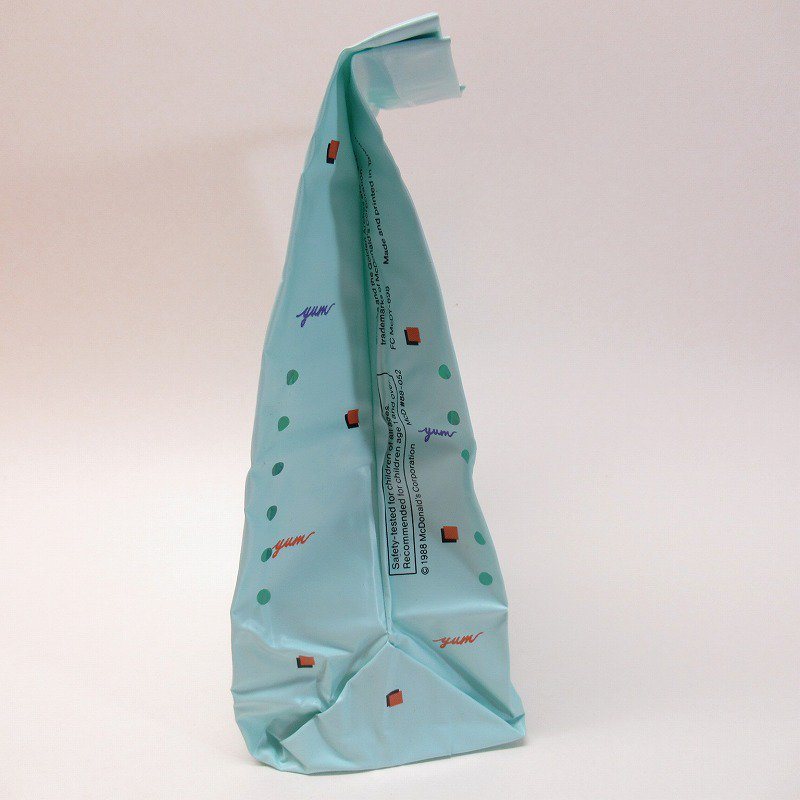 マクドナルド グリマス 1988年 ビニール製 ランチバッグ A【画像10】