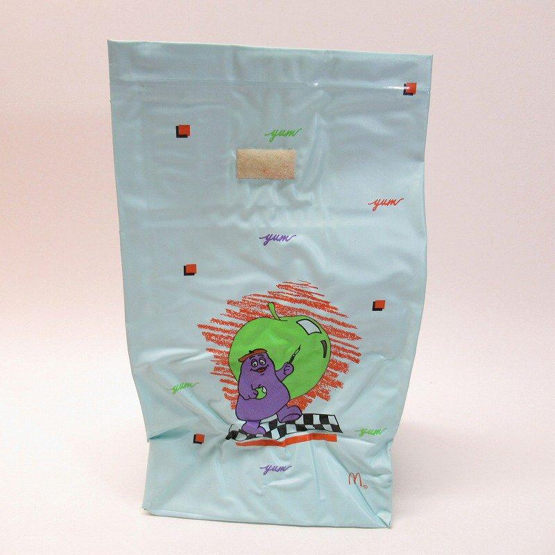 マクドナルド グリマス 1988年 ビニール製 ランチバッグ B【画像6】