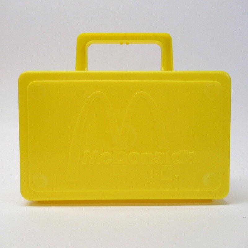 マクドナルド 1985年 地域限定配布 ランチボックス 黄色