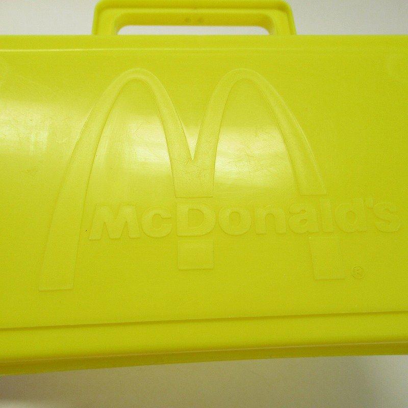 マクドナルド 1985年 地域限定配布 ランチボックス 黄色【画像11】