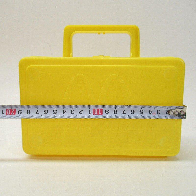 マクドナルド 1985年 地域限定配布 ランチボックス 黄色【画像20】