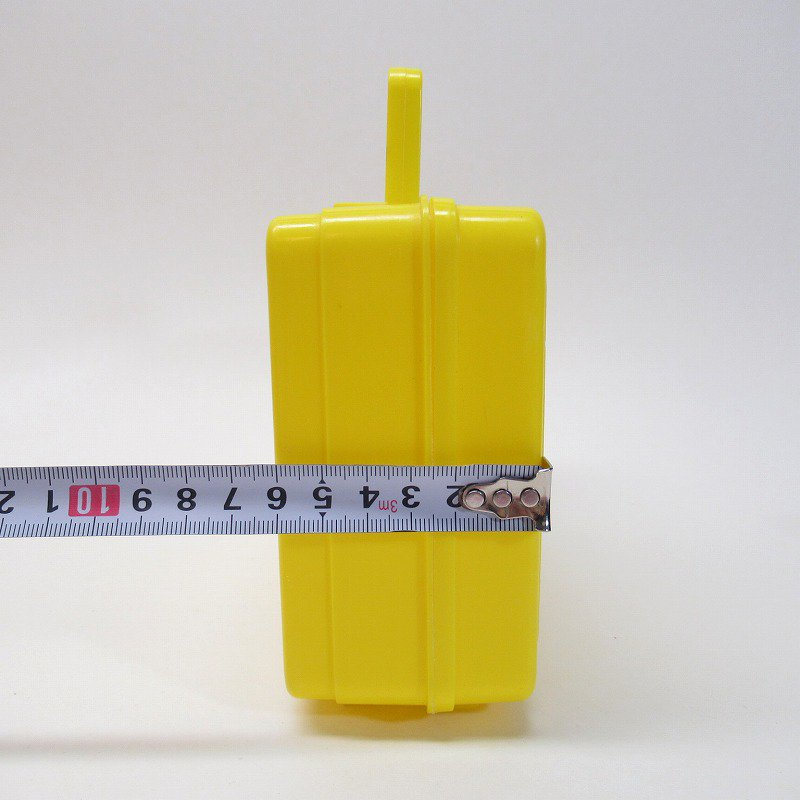 マクドナルド 1985年 地域限定配布 ランチボックス 黄色【画像21】